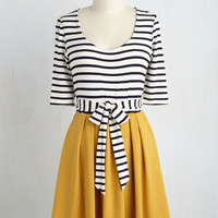 In the Very Near Twofer Striped Dress | Mod Retro Vintage Dresses | ModCloth.com