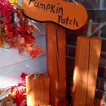 Pumpkin Patch Fall Decor - Thanksgiving Porch Decor - Pumpkin Grouping Decor - The Great Pumpkin