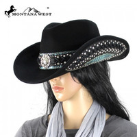 Montana West CHT-9017 Cowgirl Hat