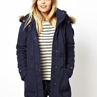 Vero Moda Parka With Detachable Fur