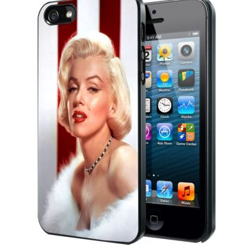 Marilyn Monroe American Flag Samsung Galaxy S3 S4 S5 S6 S6 Edge (Mini) Note 2 4 , LG G2 G3, HTC One X S M7 M8 M9 ,Sony Experia Z1 Z2 Case