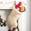 Chunky Hand Knitted Christmas Stocking