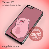 Gravity Falls Waddles Pink Pig Phone case for iPhone 5C and another iPhone devices