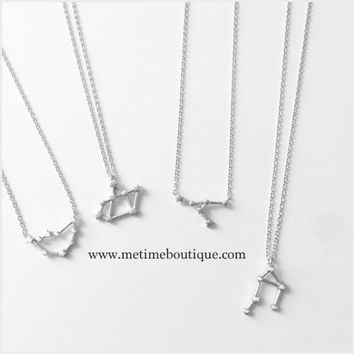 Zodiac Collection Necklaces SILVER - All Zodiac Signs