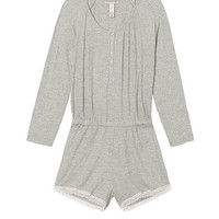 Ribbed Sleep Romper - Victoria's Secret