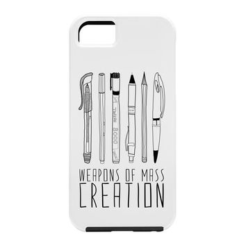 Bianca Green Weapons Of Mass Creation White Cell Phone Case