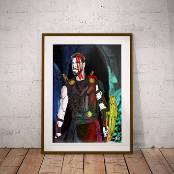 Thor Ragnarok Marvel Comic Book Movie Wall Art Print