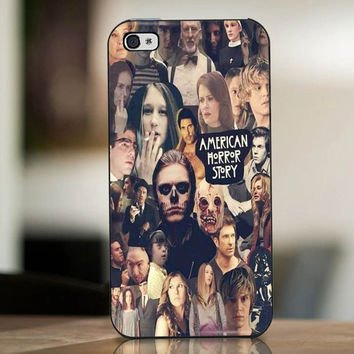 American Horror Story Collage - cover case for iPhone 4|4S|5|5C|5S|6|6 Plus Note 2|3 Samsung Galaxy s3|s4|s5 Htc One M7|M8