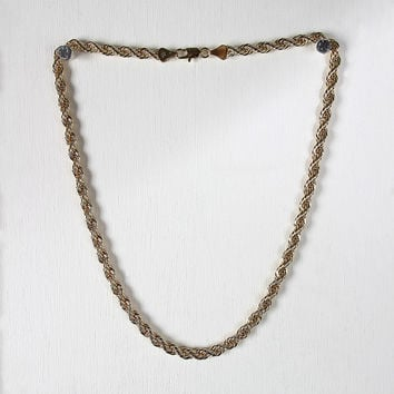 Single French Rope Chain