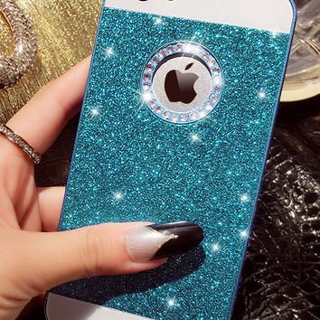 Rhinestone Glitter Case for iPhone 4 4s 5 5s 6 6s 6 6sPlus
