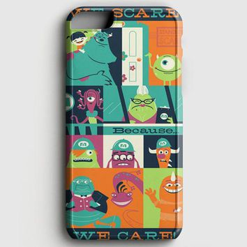Monster Inc Quotes iPhone 6 Plus/6S Plus Case | casescraft