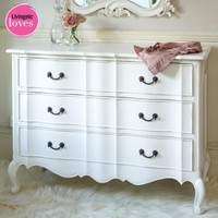 Provencal Classic White Chest of Drawers