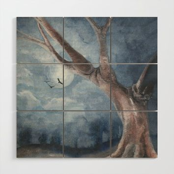 The Tree Wood Wall Art by marcogonzalez