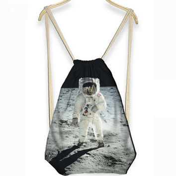 3D Astronaut Drawstring Bag / Backpack