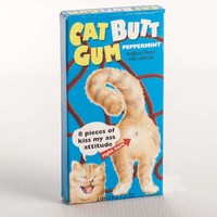 Cat Butt Gum