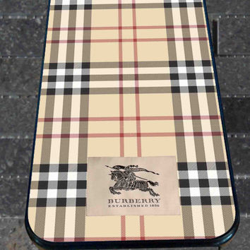 Burberry Pattern for iPhone 4/4s, iPhone 5/5S/5C/6, Samsung S3/S4/S5 Unique Case *76*