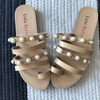 SALE! Jackie Pearl Sandals