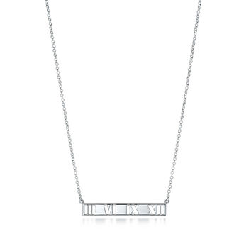 Tiffany & Co. - Atlas®:Pierced Bar Pendant