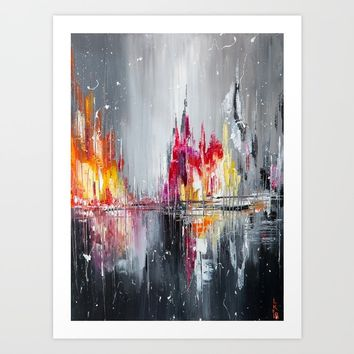 After rain Art Print by vladdurnev