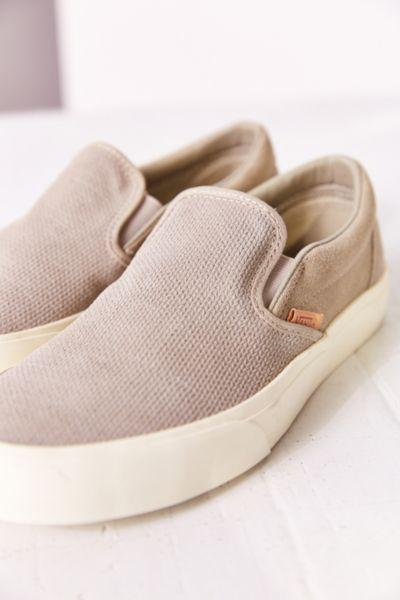 Vans Classic Knit Suede Slip-On Women s from Urban Outfitters 2fb0aa749