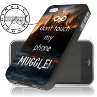 Don't Touch My Phone Muggle Harry Potter iPhone 4s iPhone 5 iPhone 5s iPhone 6 case, Samsung s3 Samsung s4 Samsung s5 note 3 note 4 case, Htc One Case