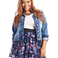 Floral Lace Skater Skirt | Wet Seal+