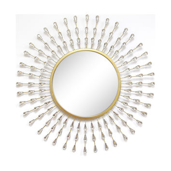 Round Acrylic Decorative Mirror