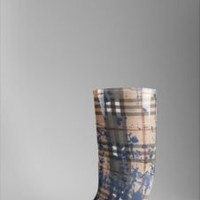 Burberry - HAYMARKET SPLASH RAIN BOOT