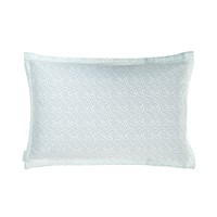 Rain Duck Egg Oxford Pillowcase - Bed | bluebellgray