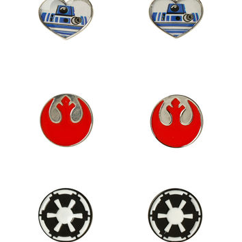 Star Wars Logo Love Stud Earring Set