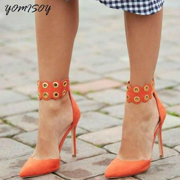 YOMISOY High Heels Women Shoes Party Wedding Shoes Salto Alto Pumps Women 2 Colors Zapatos Mujer Tacon Topuklu Ayakkabi Bayan