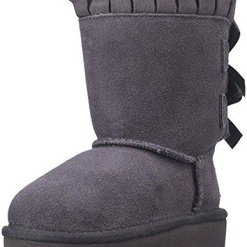 UGG Girls Bailey Bow Ruffles Boot