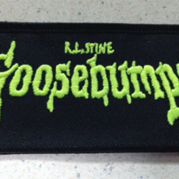 Goosebumps patch ghost stories kids books