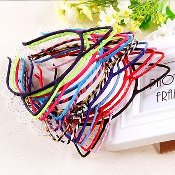 New Korean Kids Cat Ears HairBands Leopard Headband For Children Cute Girls Sexy Self Photo Pro Head Bands Lady Hair Accessories