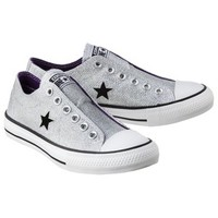 Women's Converse® One Star® Sparkle Oxford Sneaker - Silver
