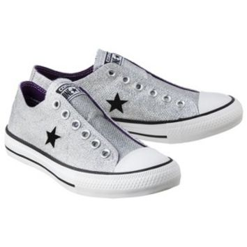 Women s Converse® One Star® Sparkle Oxford Sneaker - Silver 92c6859017