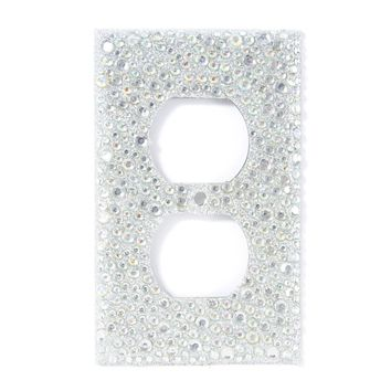 Rhinestone Outlet Cover  | Icing