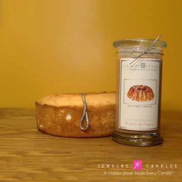 Monkey Bread Jewelry Candle