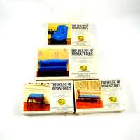 House of Miniatures Set of Chippendale Doll House Furniture Kits