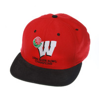 Wisconsin 1994 Rose Bowl Hat