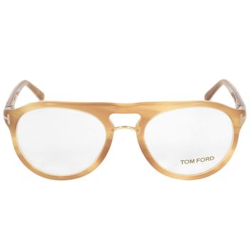 Tom Ford FT5007 663 Round | Light Havana| Eyeglass Frames
