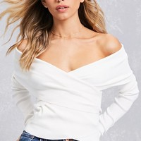 Twisted Off-the-Shoulder Top