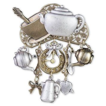 Mad Hatter's Tea Pin