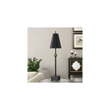 Uttermost Shawnee 37.5'' H Buffet Table Lamp with Round Shade