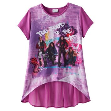 Disney D-Signed ''Too Good To Be Bad'' Descendants Tee - Girls 7-16, Size: