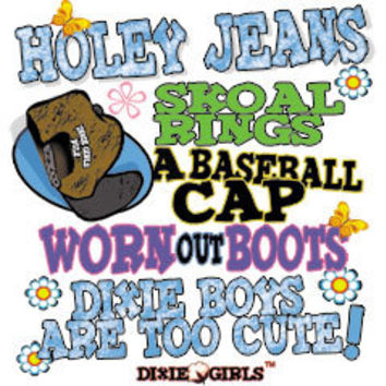 Dixie Outfitters - Burlington, NC :: 7037L HOLEY JEANS, SKOAL RINGS