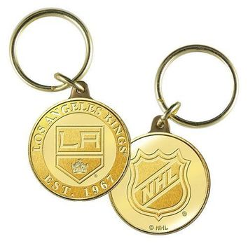 Los Angeles Kings NHL Los Angeles Kings Bronze Coin Keychain