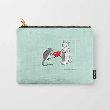 Your heart is mine Carry-All Pouch by Sagacious Design