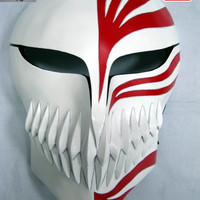 "Bleach: ""Cosplay - Hollow FULL Mask (Fibre Glass)"" : TokyoToys.com: UK Based e-store, Anime Toys Retail & Wholesale, Manga Action Figures,  Hentai Statues, Japanese Snacks, Pocky, DVDs, Gashapon,  Cosplay, Monkey Shirt, Final Fantasy, Bleach, Naruto, Death"
