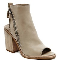 Dolce VitaOpen Toe Stacked Heel Booties